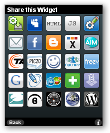 Choices for RSS Reader Widget Code