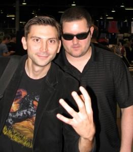 Eric Pollarine and Matt McElroy