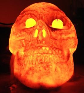 Scary Skull | Photo from cdpayne at sxc.hu