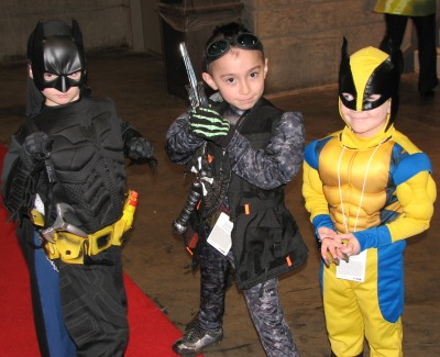 Littlest Superheroes | C2E2 2011