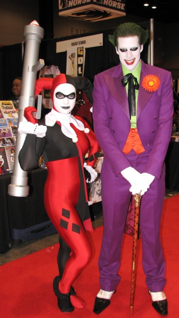 The Joker and Harley Quinn | C2E2 2011