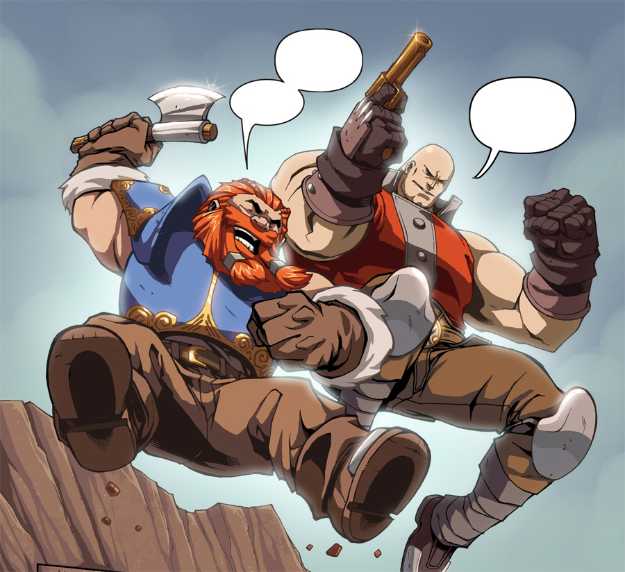 Skullkickers Caption Contest at FlamesRising