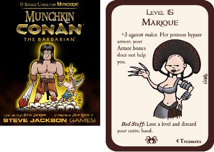 Munchkin Conan Preview