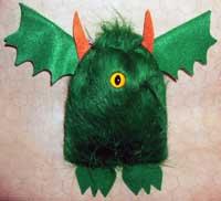 Green Dice Goblin Bag