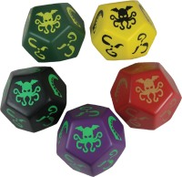 Giant Foam Cthulhu Dice