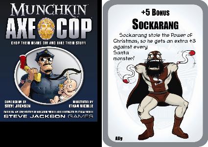 Munchkin Axe Cop Preview 1