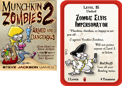 Munchkin Zombies 2: Armed and Dangerous Preview 1