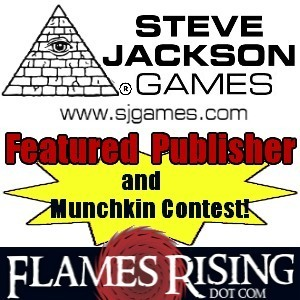 Steve Jackson Games Week at FlamesRising.com