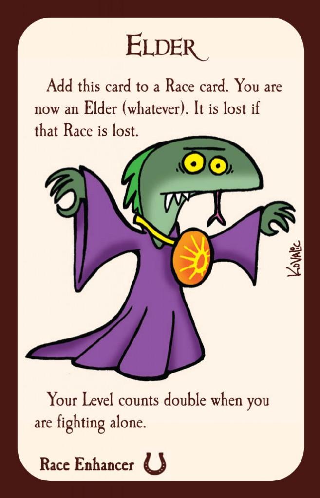 Munchkin 8 Elder Race Enhancer Card