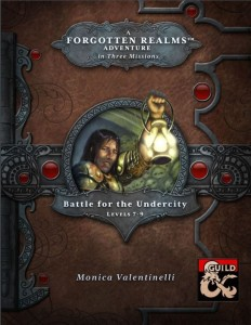 Battle for the Undercity 5E Cover