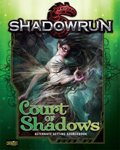 Shadowrun Court of Shadows Cover Art