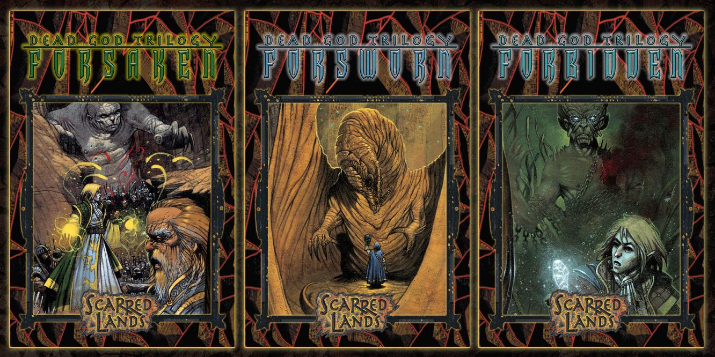 Scarred Lands novels
