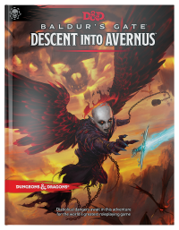 DnD Baldur's Gate Descent Into Avernus