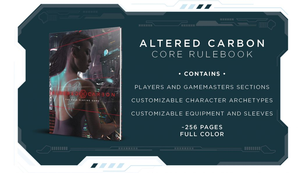 Altered Carbon RPG and Cover