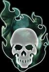 Hunter The Vigil Second Edition Skull Logo