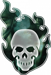 Hunter The Vigil Second Edition Skull Logo