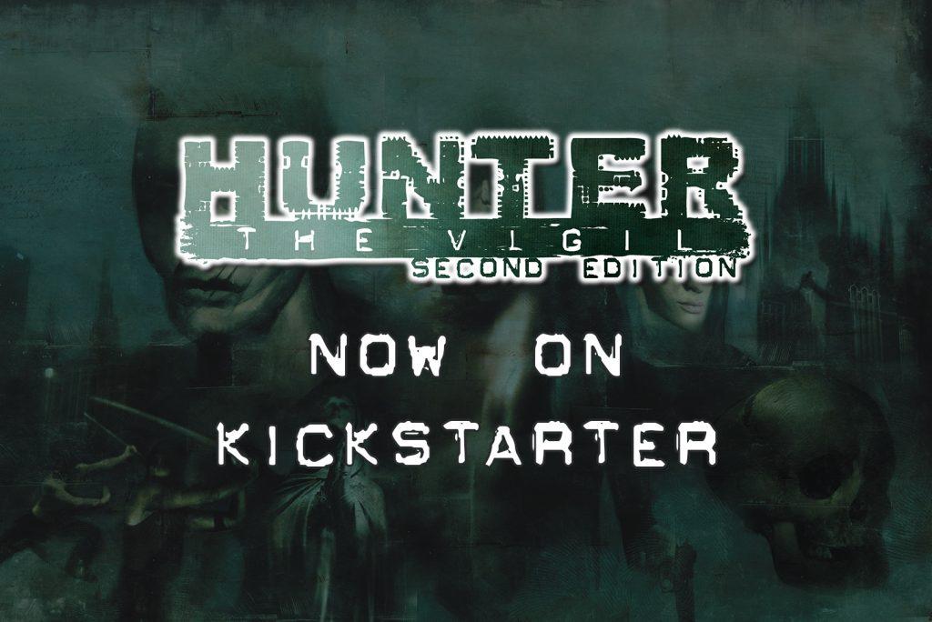 Hunter the Vigil Second Edition Now on Kickstarter
