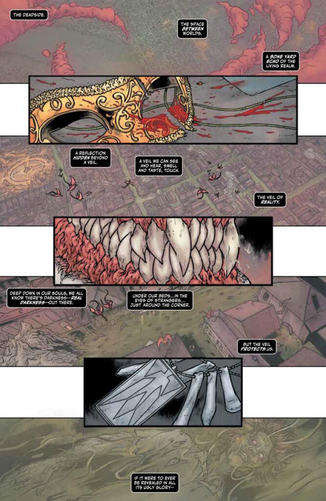 Shadowman Issue 1 Page 1