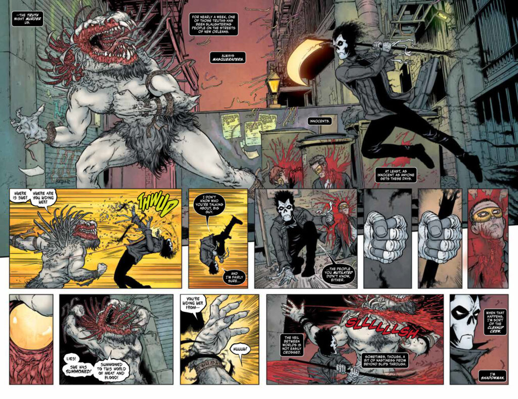 Shadowman Issue 1 Page 2